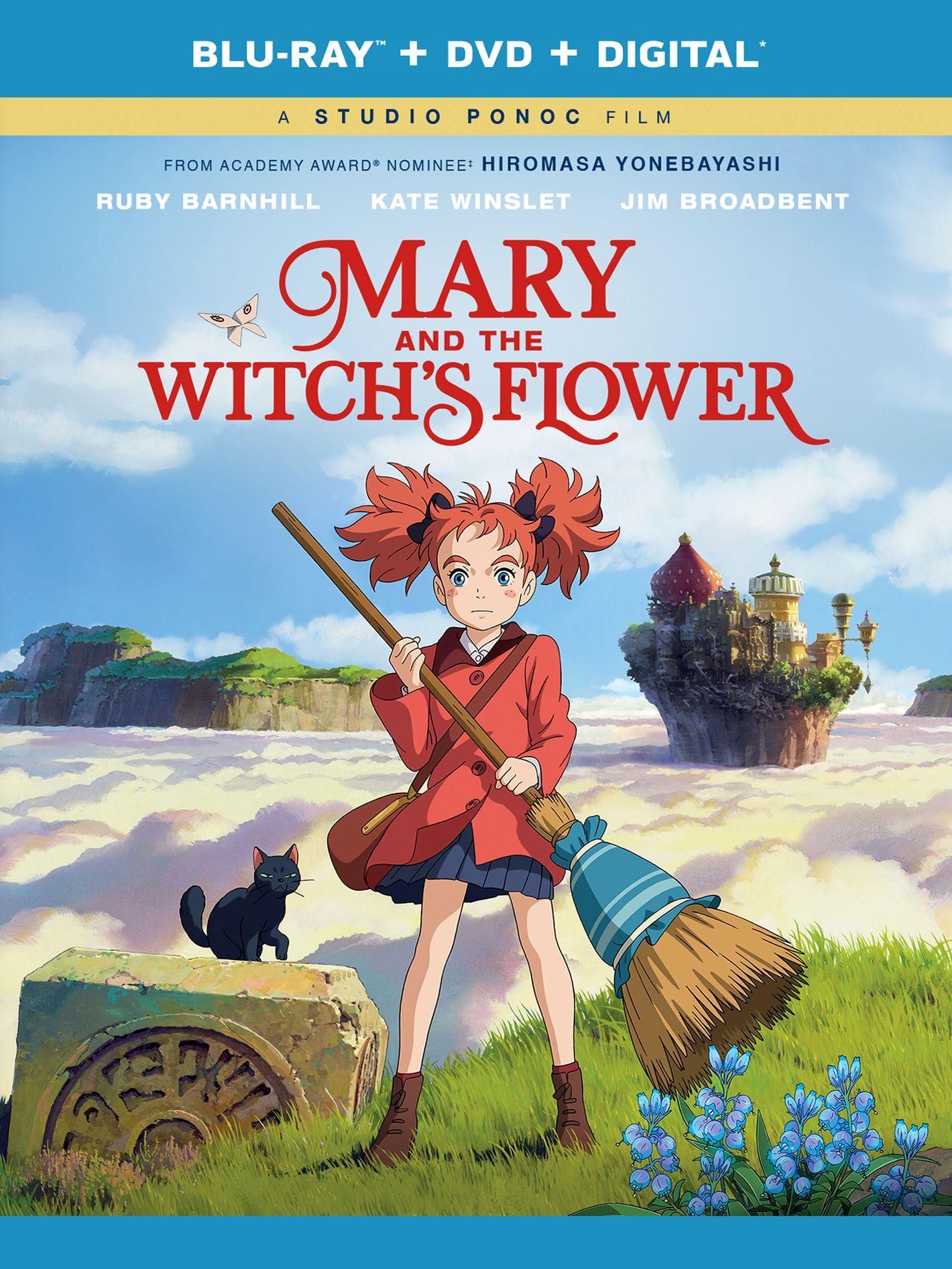 Мэари и цветок ведьмы. Обложка с сайта kinopoisk.ru
