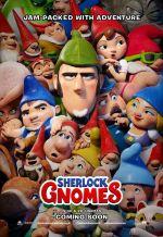 Постер фильма «Шерлок Гномс»