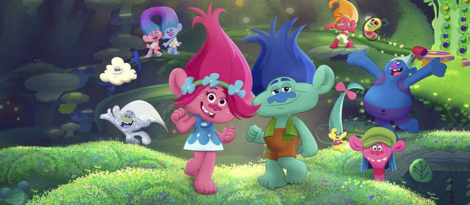 Тролли: праздник продолжается. Обложка с сайта kino-govno.com