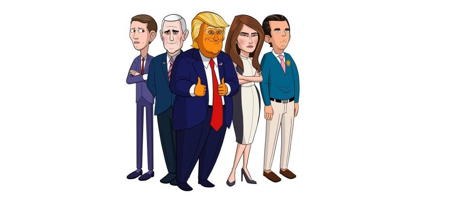 Наш мультяшный президент. Обложка с сайта kino-govno.com
