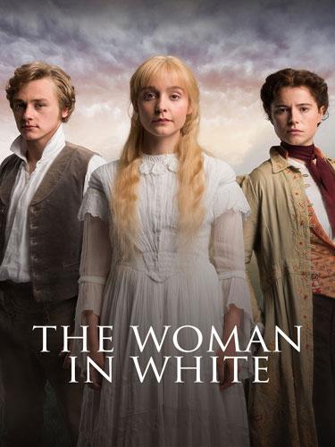 Женщина в белом. Обложка с сайта ozon.ru