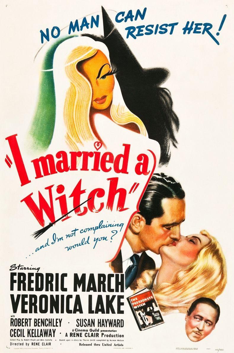 Я женился на ведьме. Обложка с сайта keep4u.ru