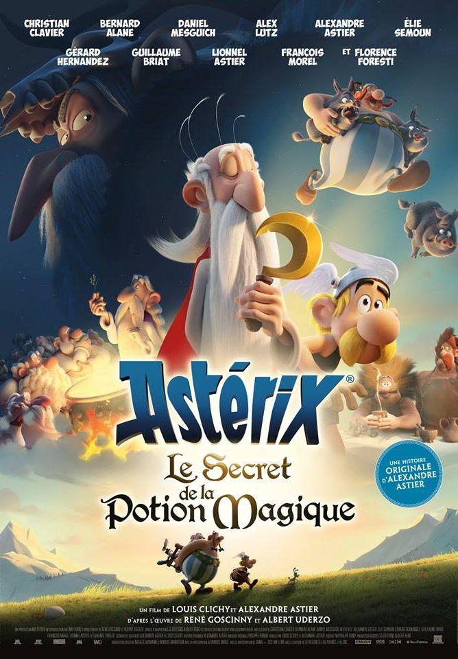 Астерикс и тайное зелье. Обложка с сайта kinopoisk.ru