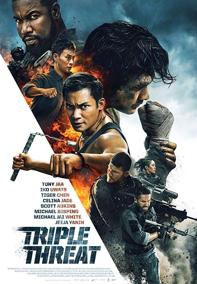 Тройная угроза. Обложка с сайта kino-govno.com