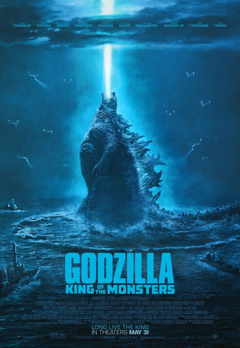 Годзилла 2: Король монстров. Обложка с сайта imagepost.ru