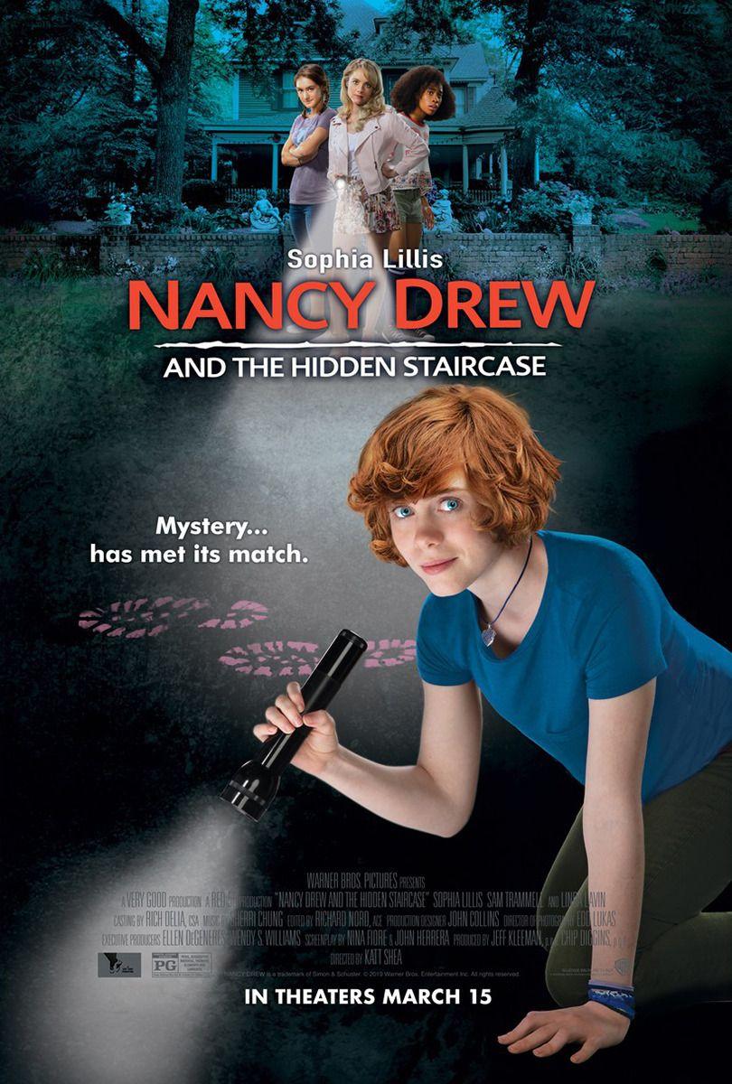 Нэнси Дрю и потайная лестница. Обложка с сайта ipicture.ru