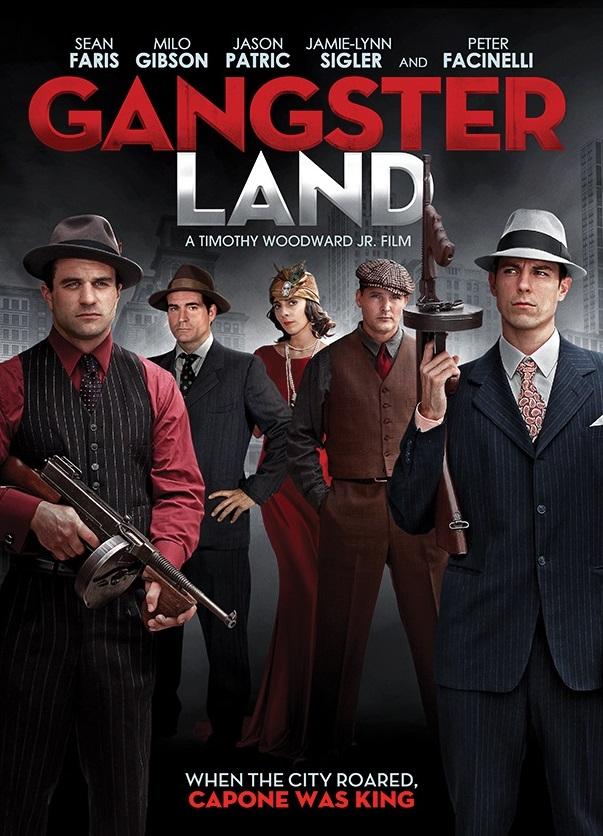 Земля гангстеров. Обложка с сайта bolero.ru