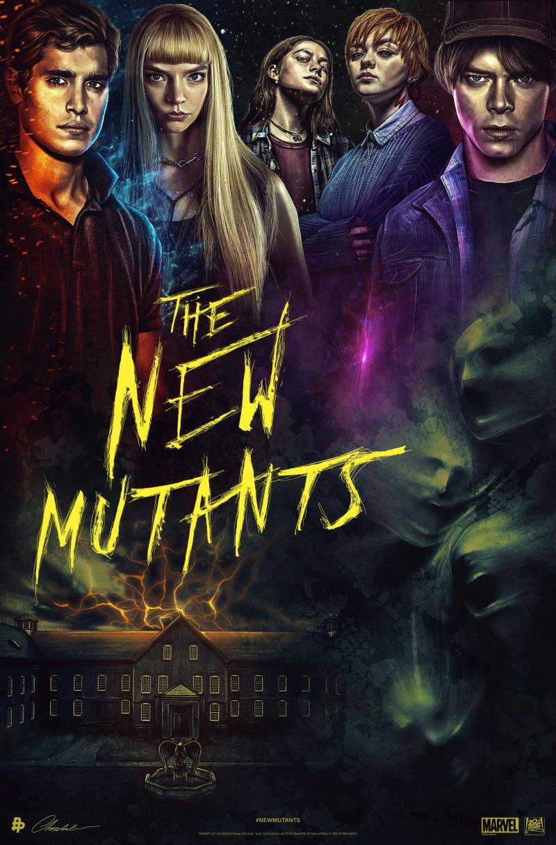 Новые мутанты. Обложка с сайта bolero.ru