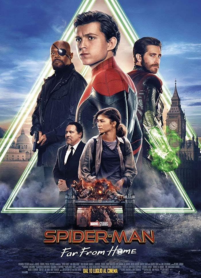 Человек-паук: Вдали от дома. Обложка с сайта imagepost.ru