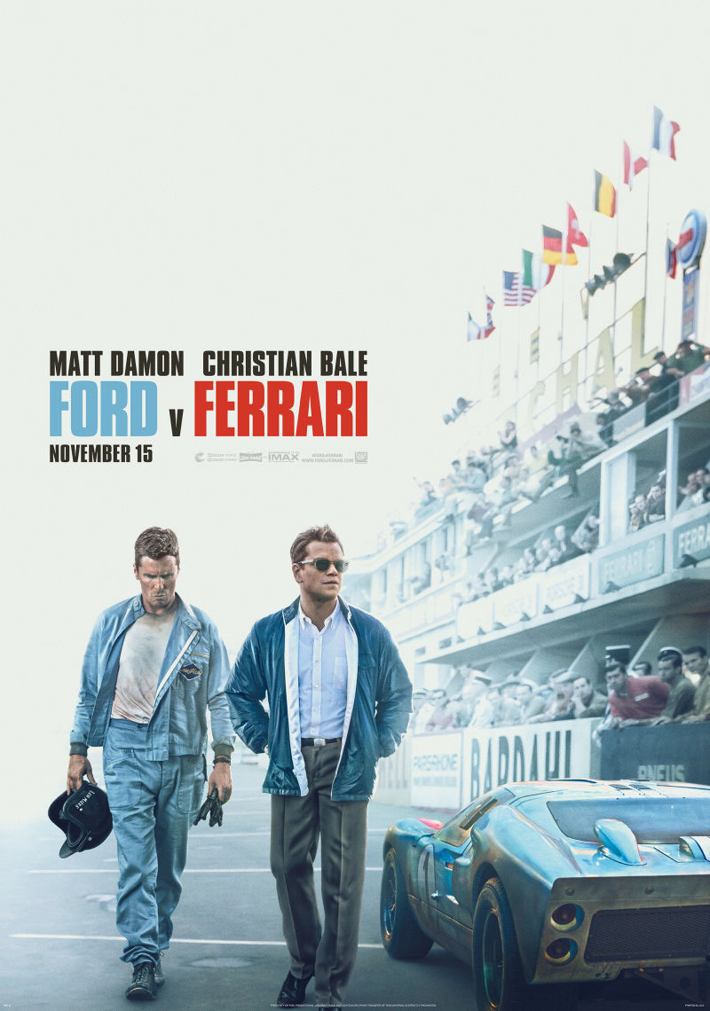 Ford против Ferrari. Обложка с сайта ipicture.ru