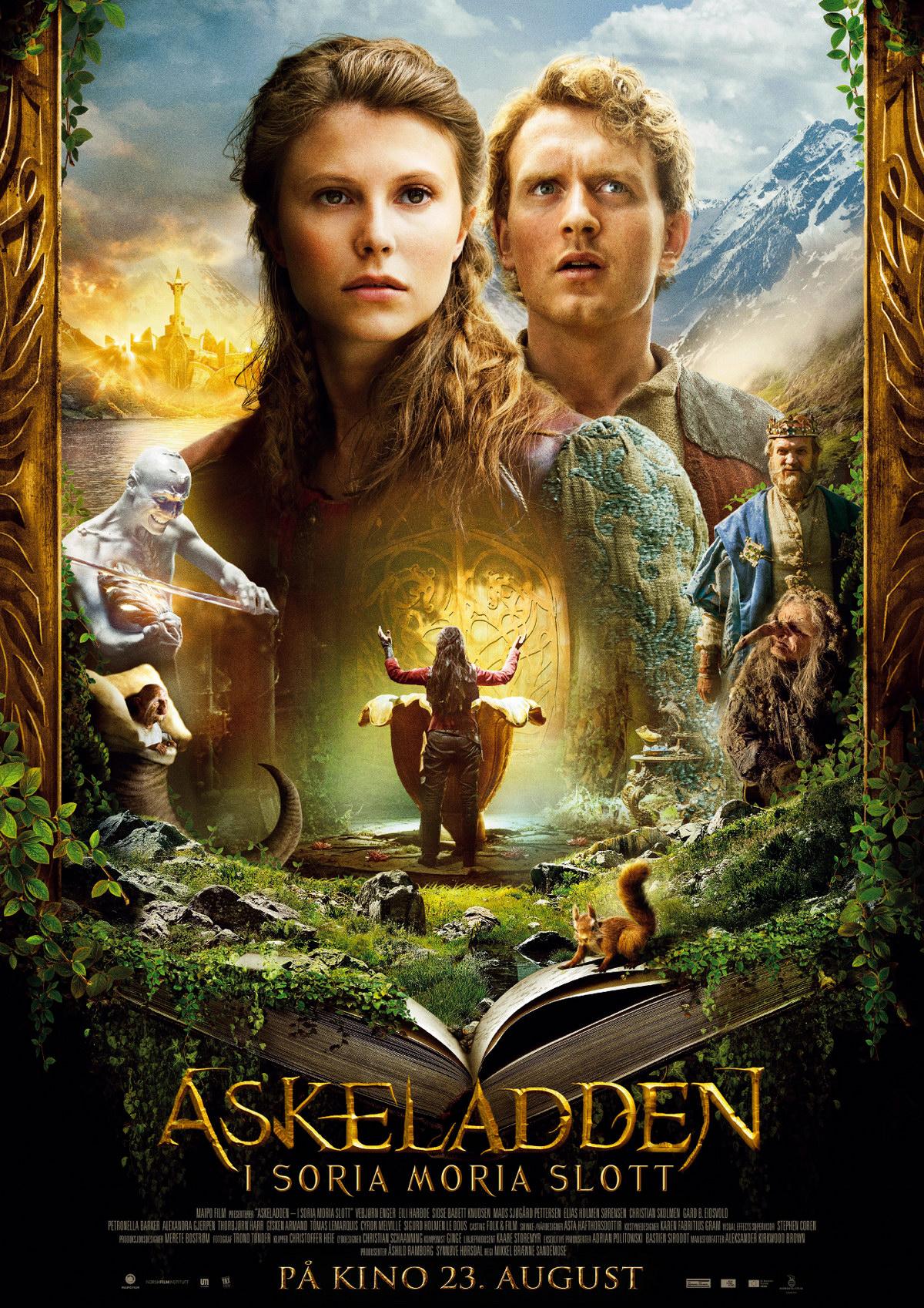 Эспен в поисках Золотого замка. Обложка с сайта kino-govno.com