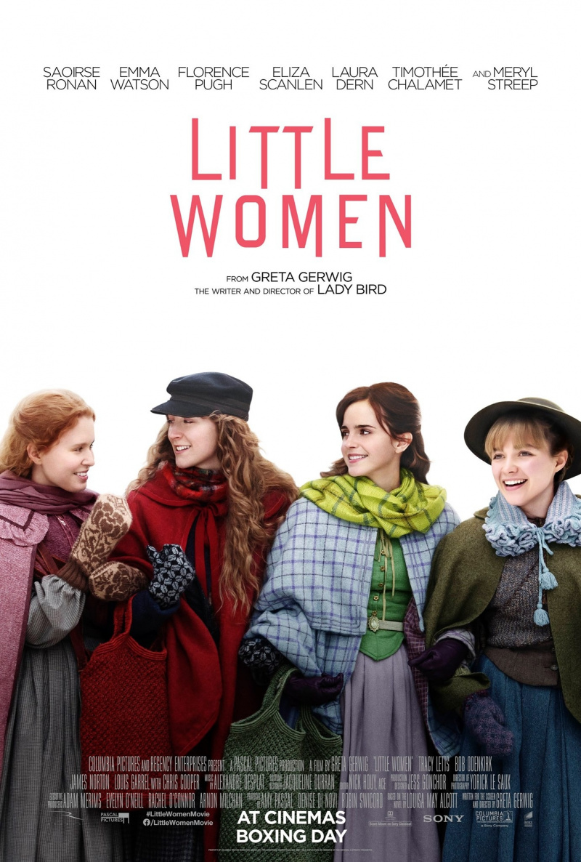 Маленькие женщины. Обложка с сайта kinopoisk.ru