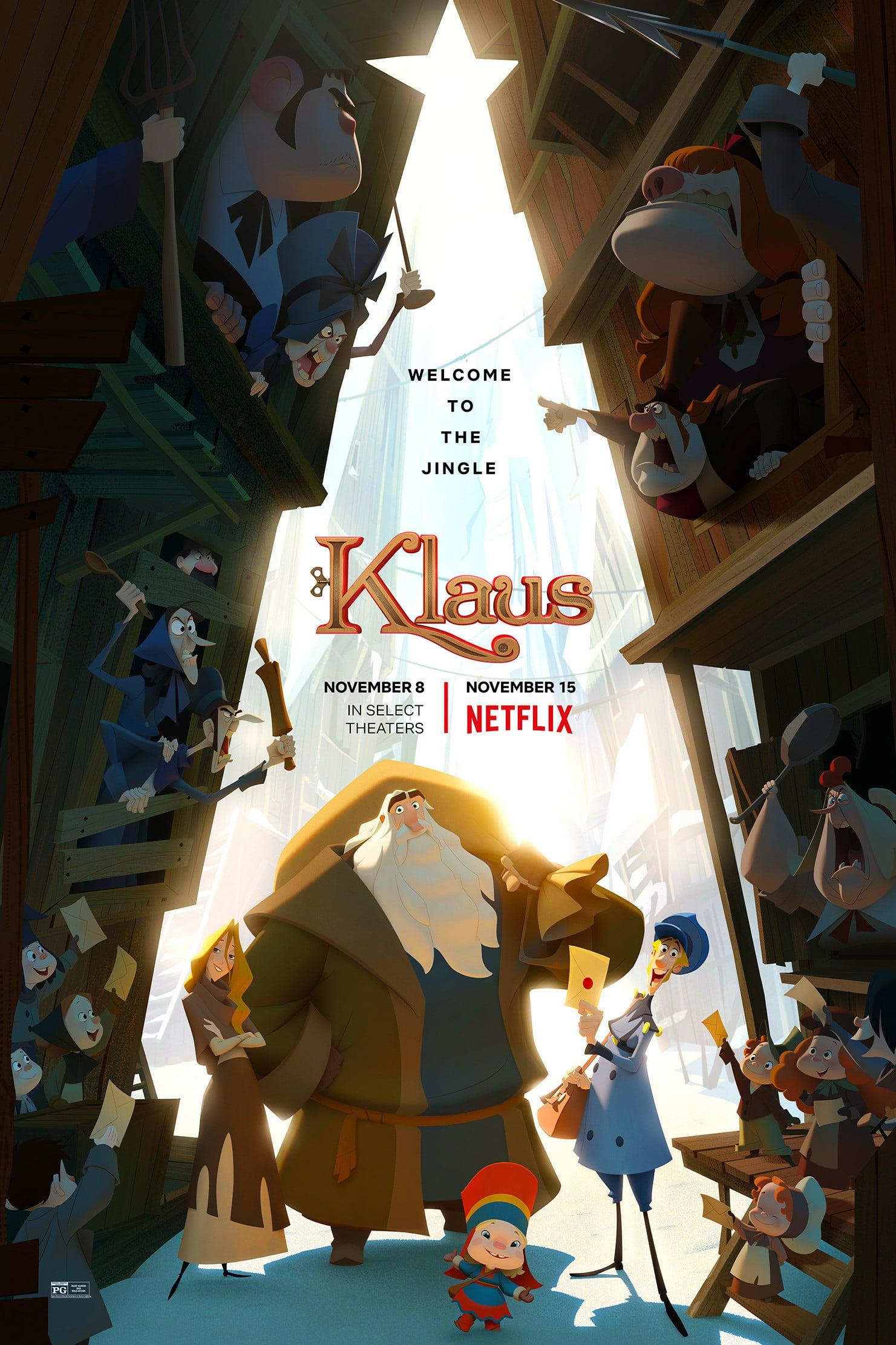 Клаус. Обложка с сайта kinopoisk.ru