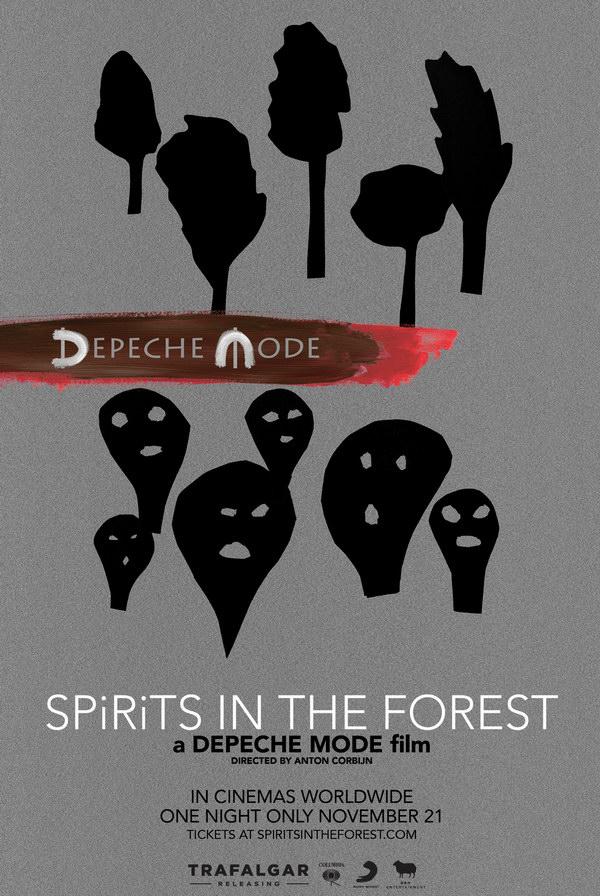 Depeche Mode: Spirits in the Forest. Обложка с сайта ozon.ru