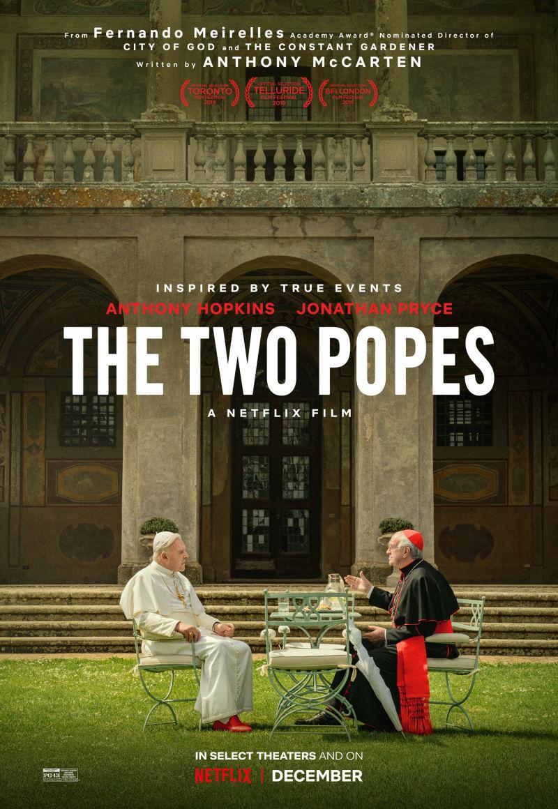 Два Папы. Обложка с сайта kino-govno.com