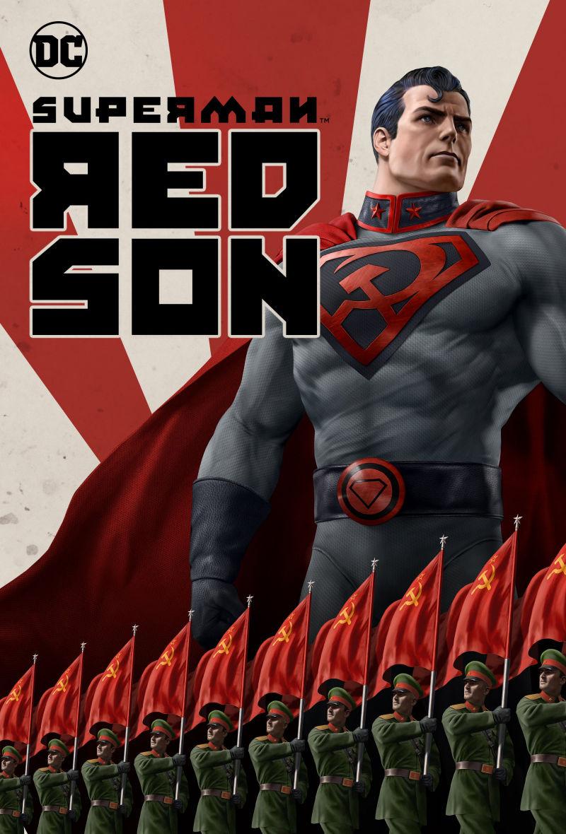 Супермен: Красный сын. Обложка с сайта imagepost.ru