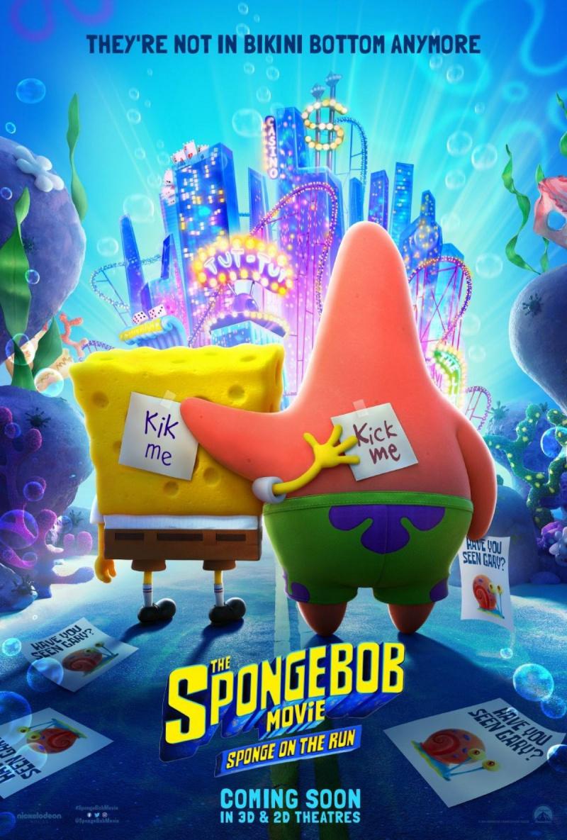 Губка Боб в бегах. Обложка с сайта kino-govno.com