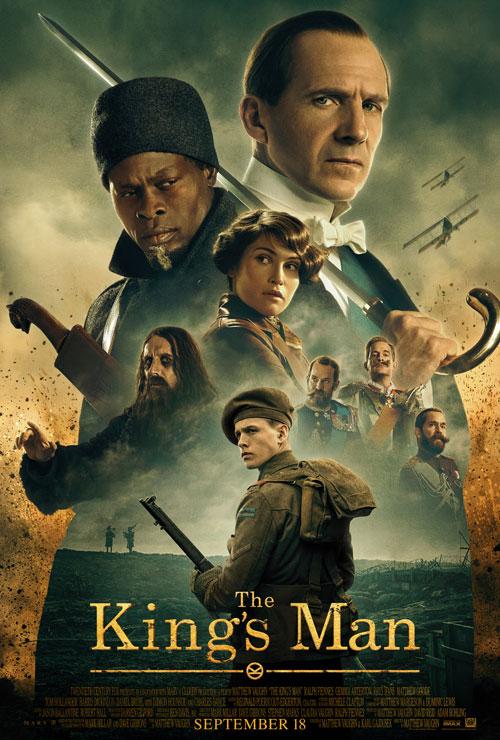 King's man: Начало. Обложка с сайта ozon.ru