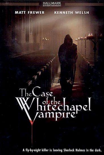 Шерлок Холмс и доктор Ватсон: Дело о вампире из Уайтчэпела. Обложка с сайта bolero.ru