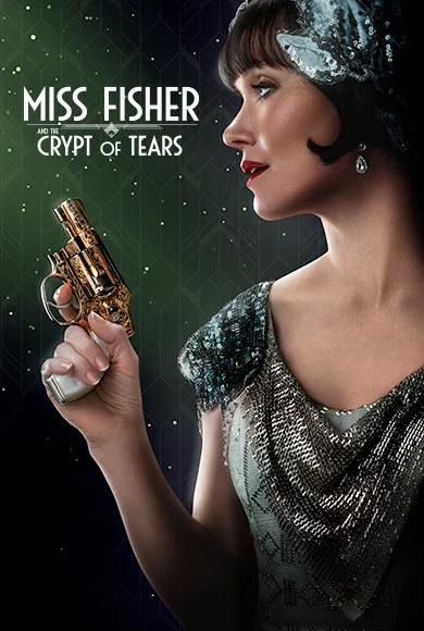 Мисс Фрайни Фишер и гробница слёз. Обложка с сайта kino-govno.com