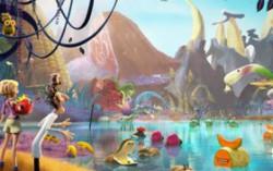 Кадр из мультфильма «Облачно, возможны осадки: Месть ГМО»