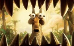 Кадр из мультфильма «Ледниковый период 3: Эра динозавров»