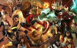 Герои Marvel. Изображение с сайта eventhubs.com