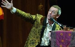 Хью Лори. Фото с сайта koncert-photo.livejournal.com