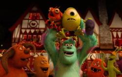 Кадр из мультфильма «Университет монстров»