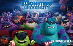 Постер из фильма «Университет монстров»