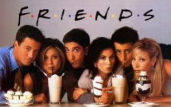 Постер сериала «Друзья»