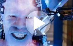 Кадр из тизера фильма «Новый Человек-паук 2»