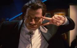 Кадр из фильмы «Криминальное чтиво»