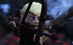 Кадр из лего-трейлера «Хоббит: Пустошь Смауга»
