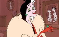 Кадр из мультфильма «101 далматинец»