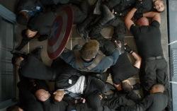 Кадр из фильма «Первый мститель: Другая война».
