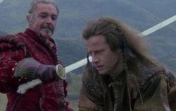 Кадр из фильма «Горец»