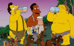 Кадр из мультсериала «Симпсоны»