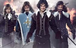 Постер фильма «Три мушкетера»