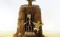Кадр из мультфильма «Ку! Кин-дза-дза»
