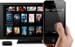 Apple iPhone и TV. Изображение с сайта techhail.org