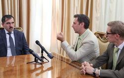 Голливудско-российские киношники расписывают будущий ремейк. Фото с сайта ingushetia.ru