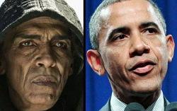 Мохамен Мехди Оузанни И Барак Обама. Угадайте, кто здесь кто. Фото с сайта hollywoodreporter.com