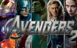 Фанатский постер «Мстители: Эра Альтрона»