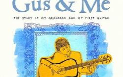 Фрагмент обложки книги «Газ ия: История омоем дедушке имоей первой гитаре»
