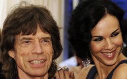 Мик Джаггер и Лорен Скотт. Фото с сайта ria.ru