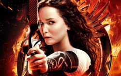 Постер фильма «Голодные игры: И вспыхнет пламя»