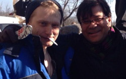 Олег Ягодин и Андрей Прошкин. Фото со страницы Елены Романовой в Фейсбук