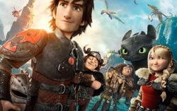 Фрагмент постера мультфильма «Как приручить дракона-2»