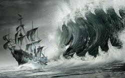 Фанатский постер «Пираты Карибского моря. Мертвецы не болтают»